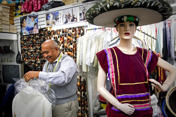 8505f79356b Boyle Heights tailor is the master of mariachi suits - Los Angeles Times