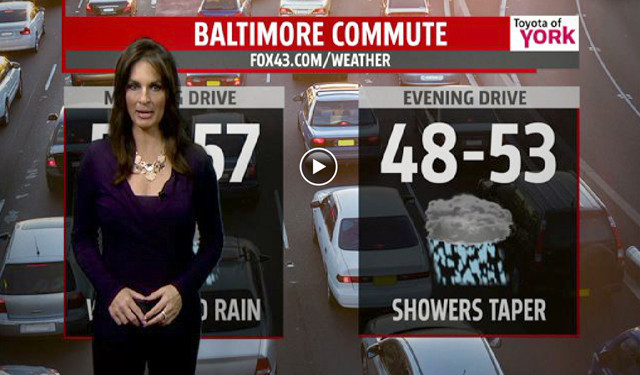 Monday's commuter weather forecast [Video] - Baltimore Sun