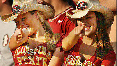 Photos: Florida State football fans and cheerleaders - Sun ...