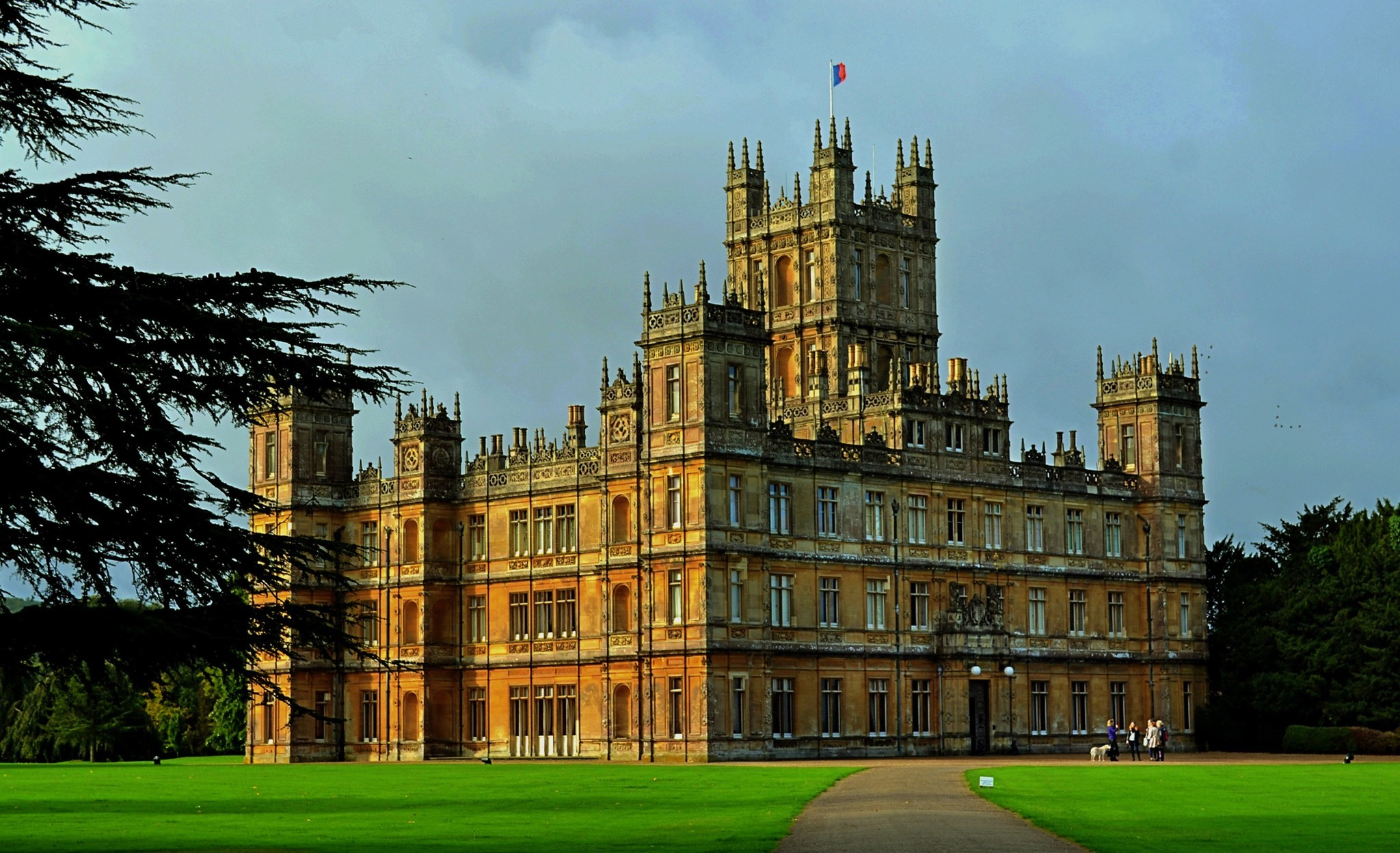 Beautiful Homes Photo Gallery Highclere Castle La Times