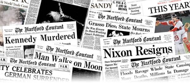 Explore Hartford Courant archive, both historical and recent editions. Find newspaper articles and clippings for help with genealogy, history and other research.