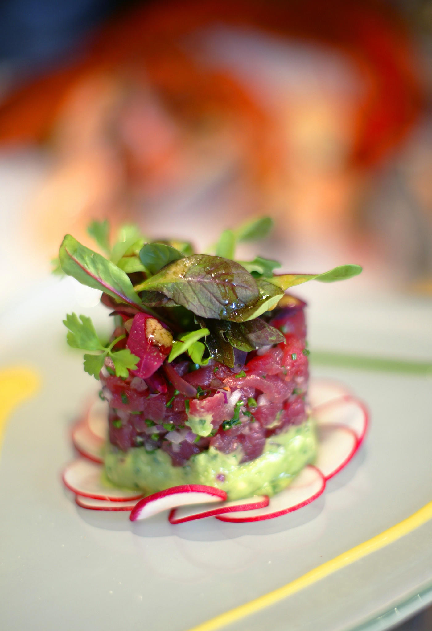 Recipe Big Eye Tuna Tartare California Cookbook