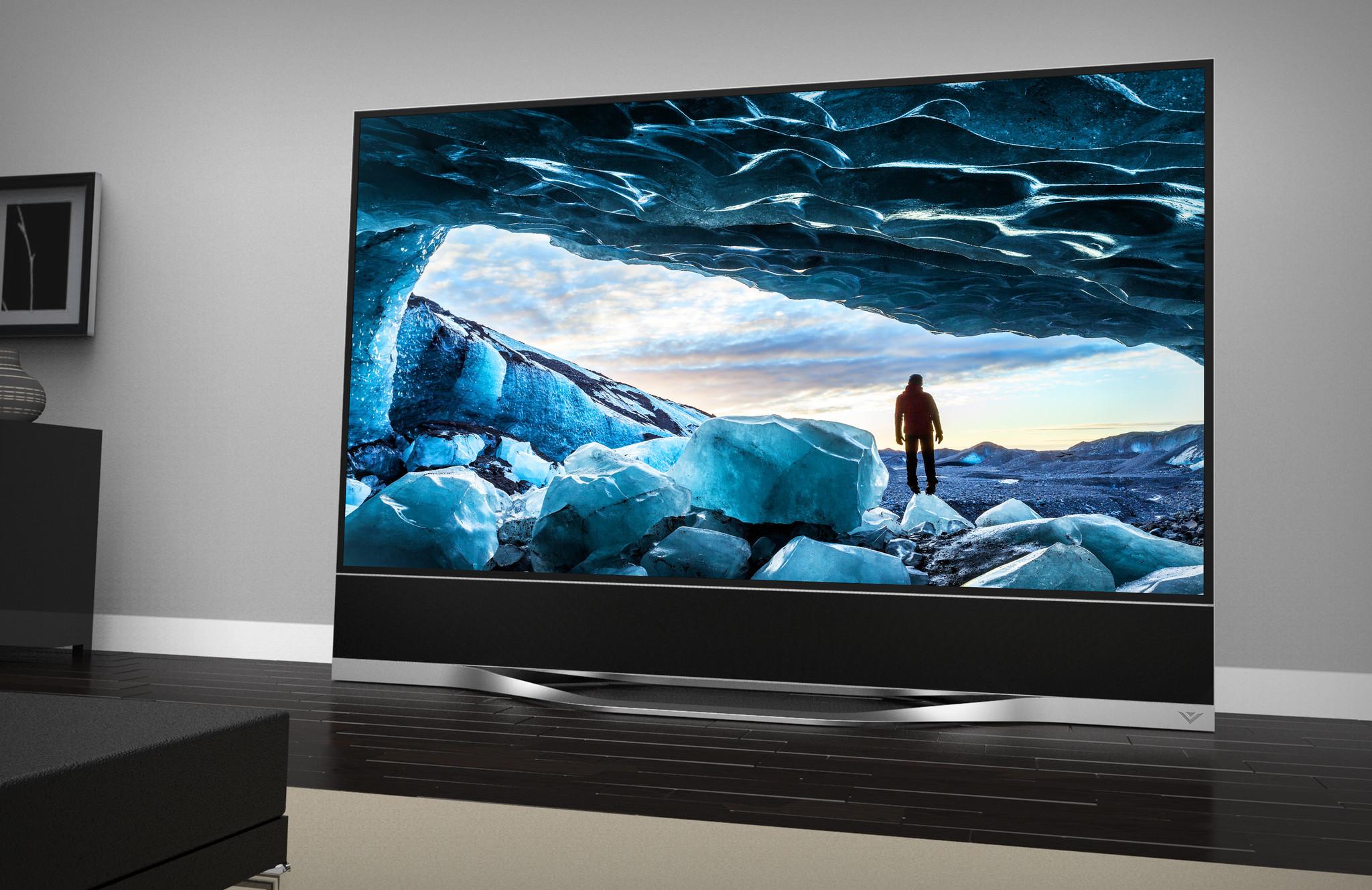 ces 2014 vizio announces 120 inch ultra hd tv la times. Black Bedroom Furniture Sets. Home Design Ideas
