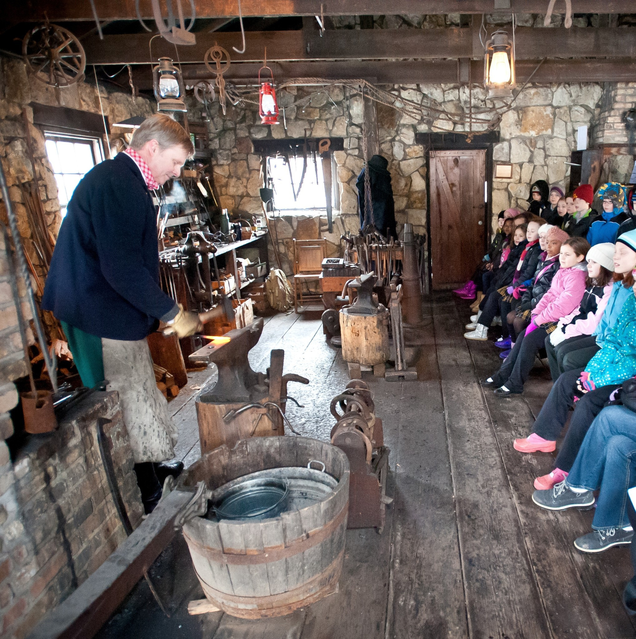 Fireplace Naperville: Naper Settlement Offers Three School's Out Programs