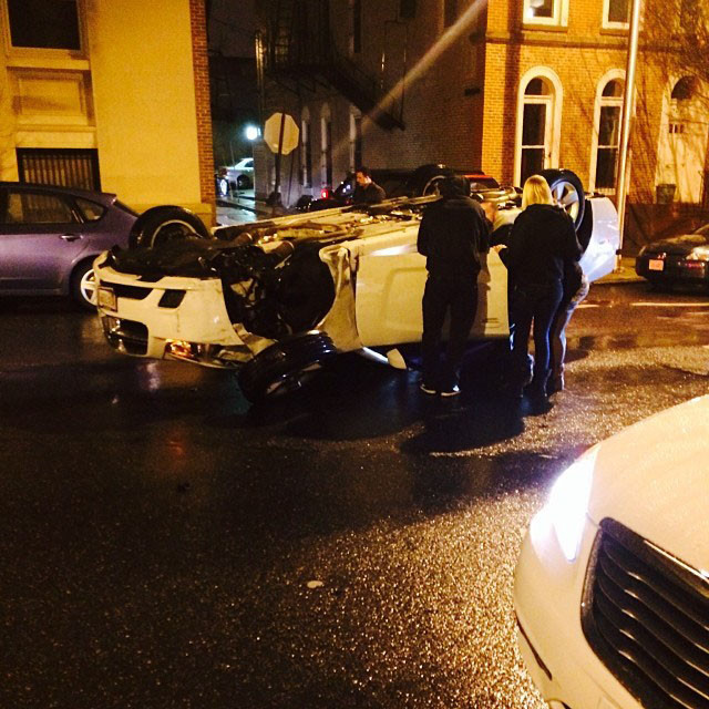 Man Fatally Shot Inside Overturned Car In Mount Vernon