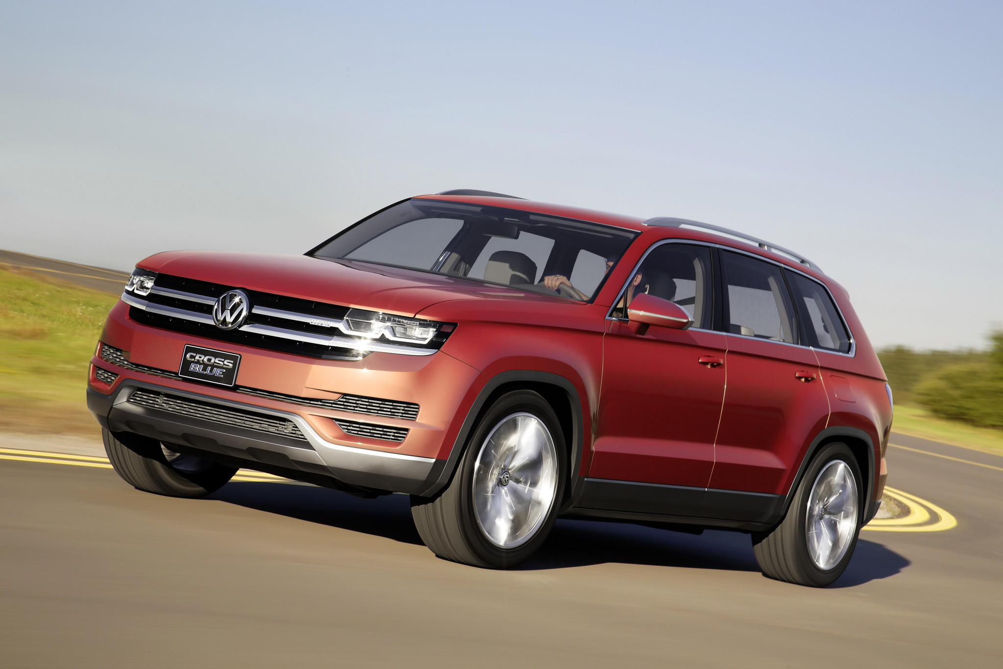 2014 detroit auto show volkswagen reveals plans for mid size suv latimes. Black Bedroom Furniture Sets. Home Design Ideas