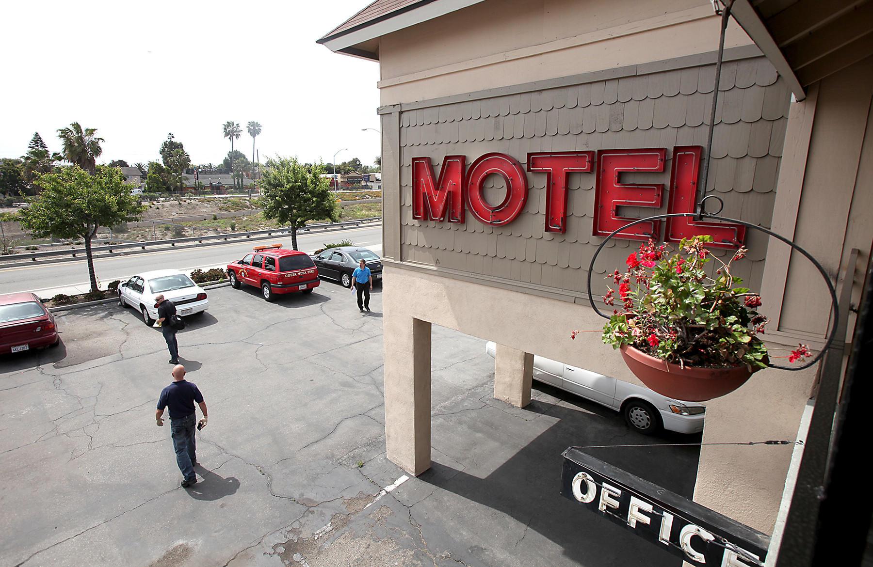 Motel  Costa Mesa Harbor Blvd