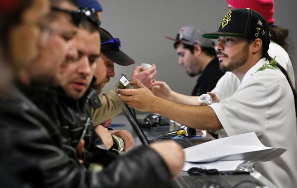 Marijuana sales in Colorado