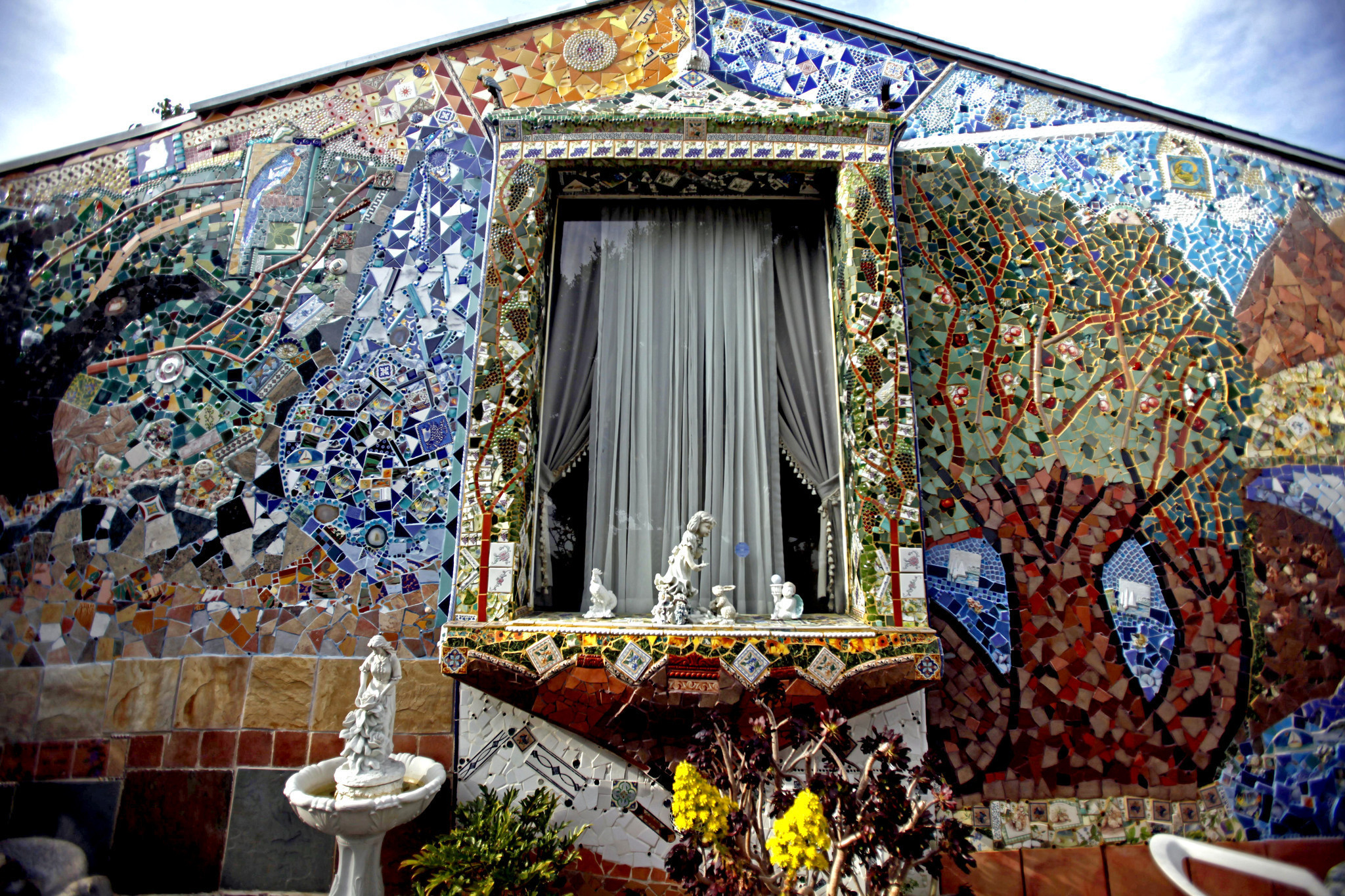 A Mosaic Loving Family S Journey Of Many Tiles La Times