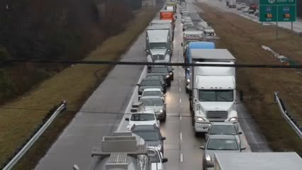 Crash on I-64 West causes backup | Video - Daily Press