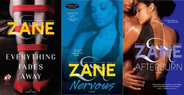Novels by Zane