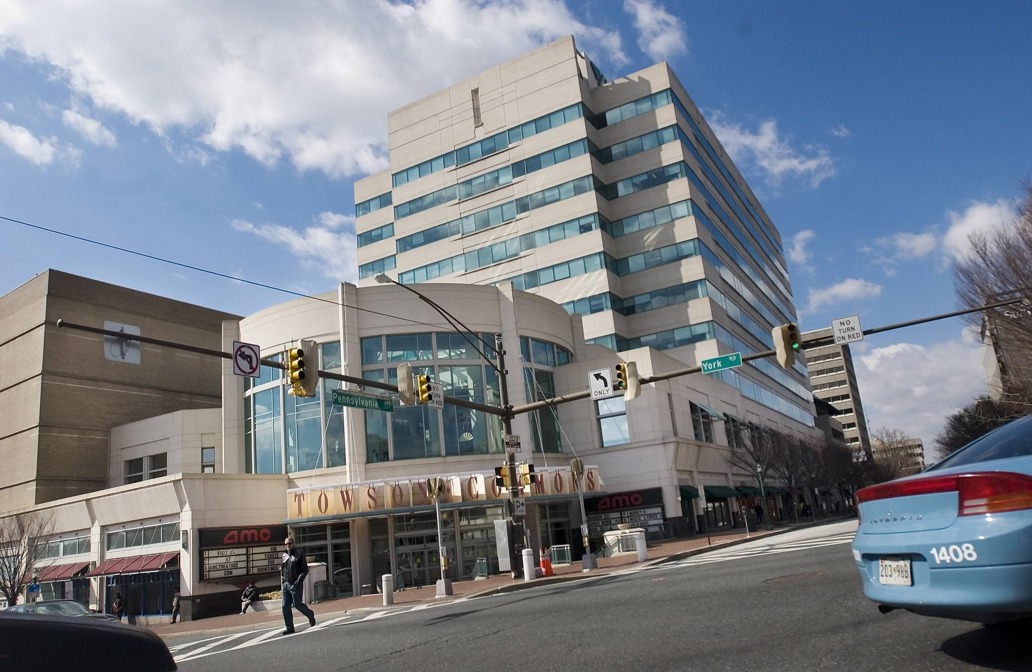 The Long Vacant Towson Commons Building At York Road And Pennsylvania Avenue Is Being Redeveloped With