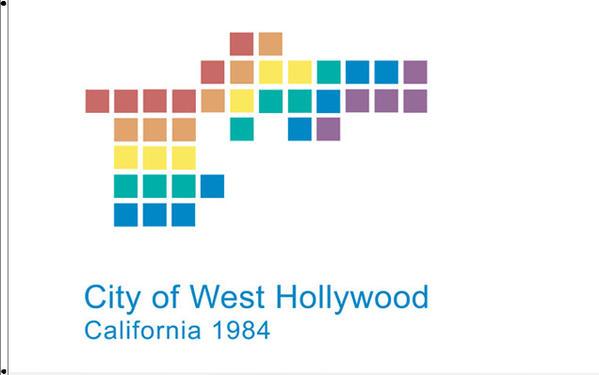 West Hollywood flag