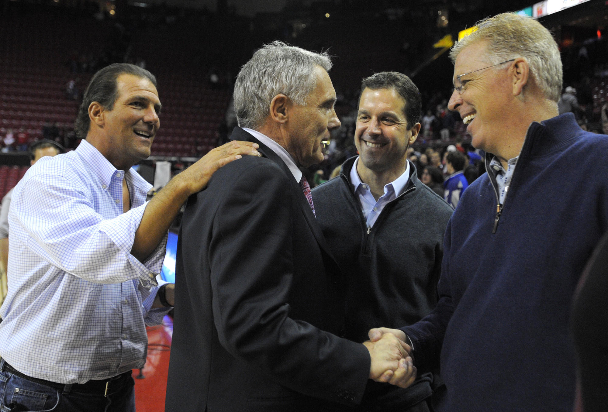 Ravens owner Steve Bisciotti lobbies for his friend Gary Williams to