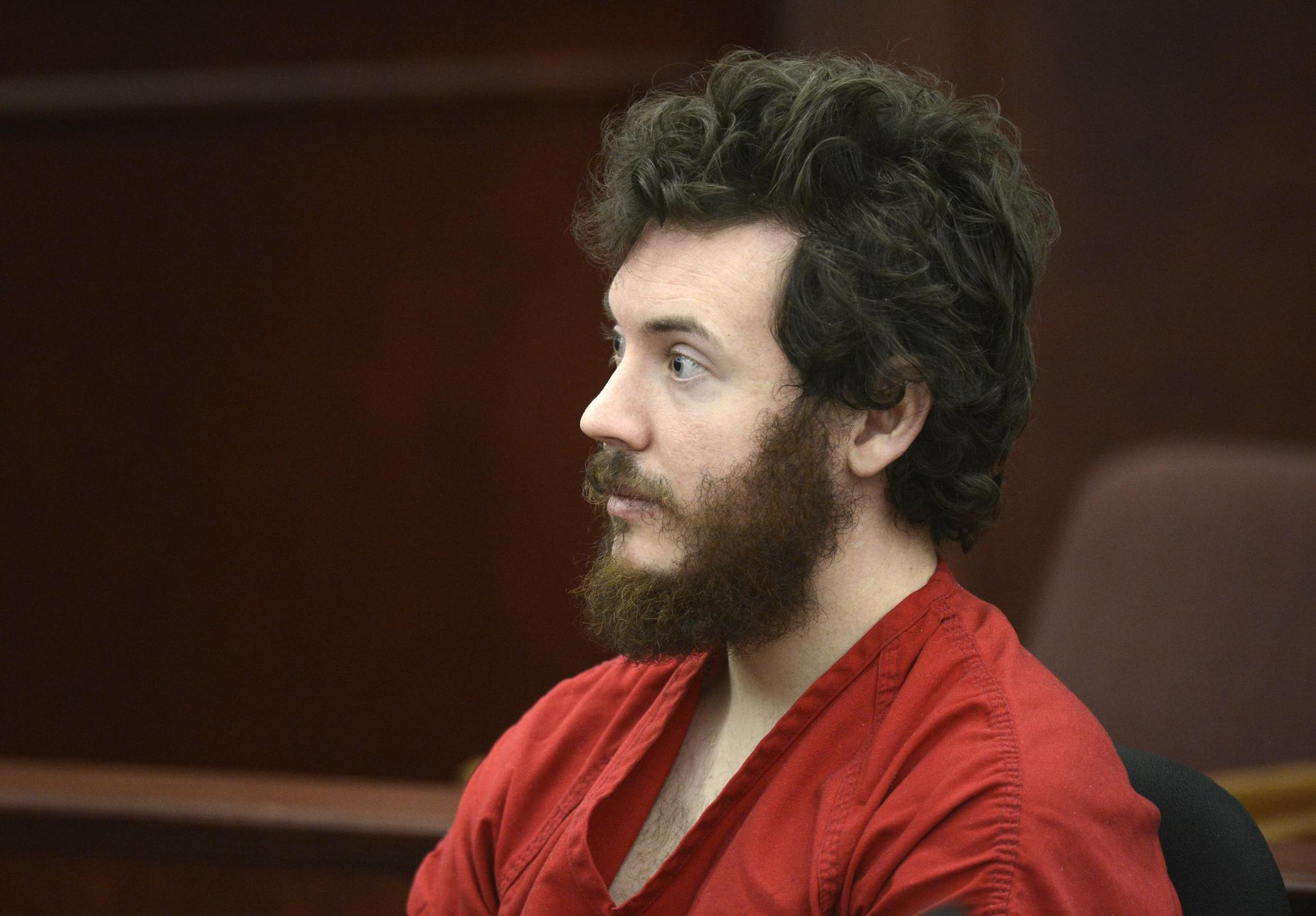 accused colorado movie theater gunman ordered to undergo new accused aurora theater shooting suspect james holmes listens at his arraignment in centennial colorado in