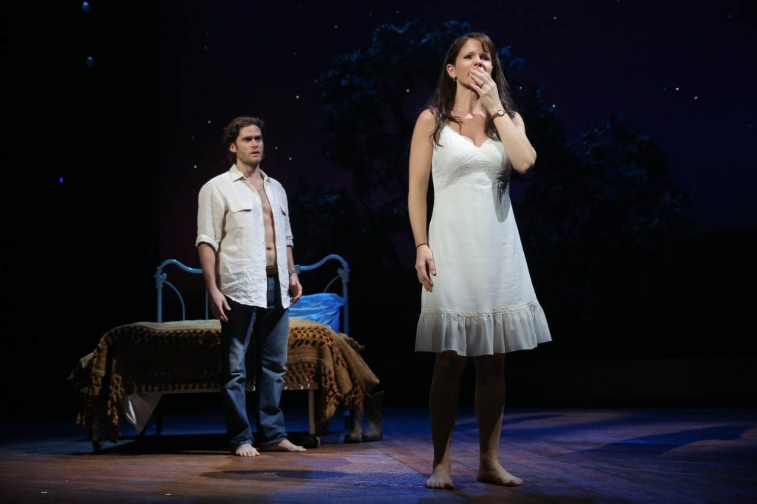 Broadway Review Bridges Of Madison County Chicago Tribune