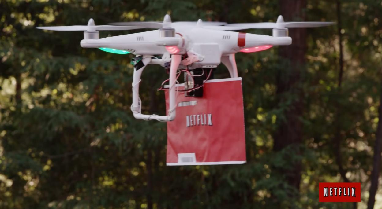 la-fi-tn-netflix-mocks-amazon-prime-air-drone-2-home-20140225Amazon Prime Air Drone
