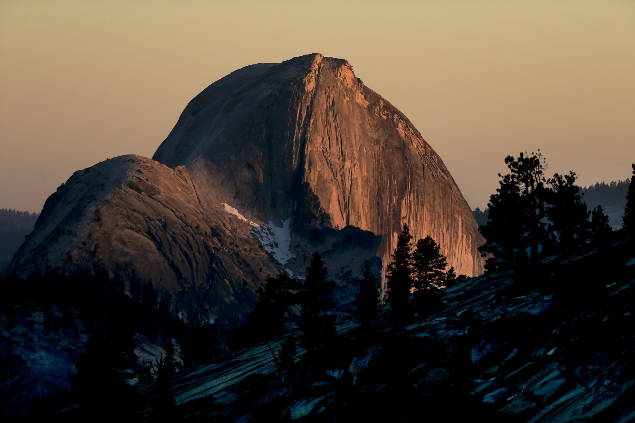 A Different View Of Yosemite S Half Dome Los Angeles Times