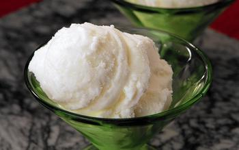 Lucques' yogurt sherbet