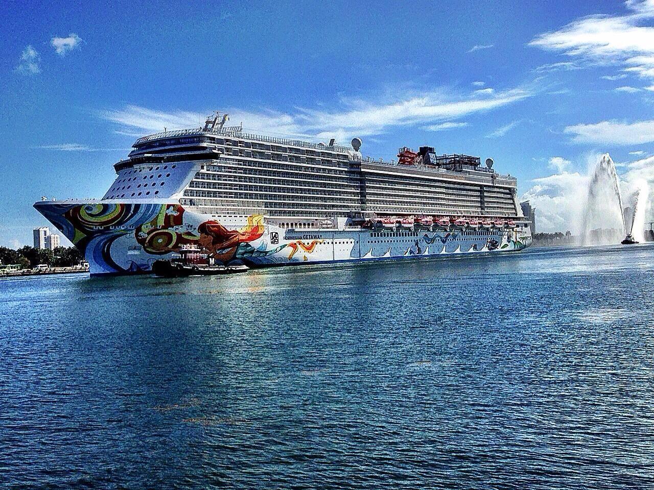 A Glance At Florida's Big Cruise Ships