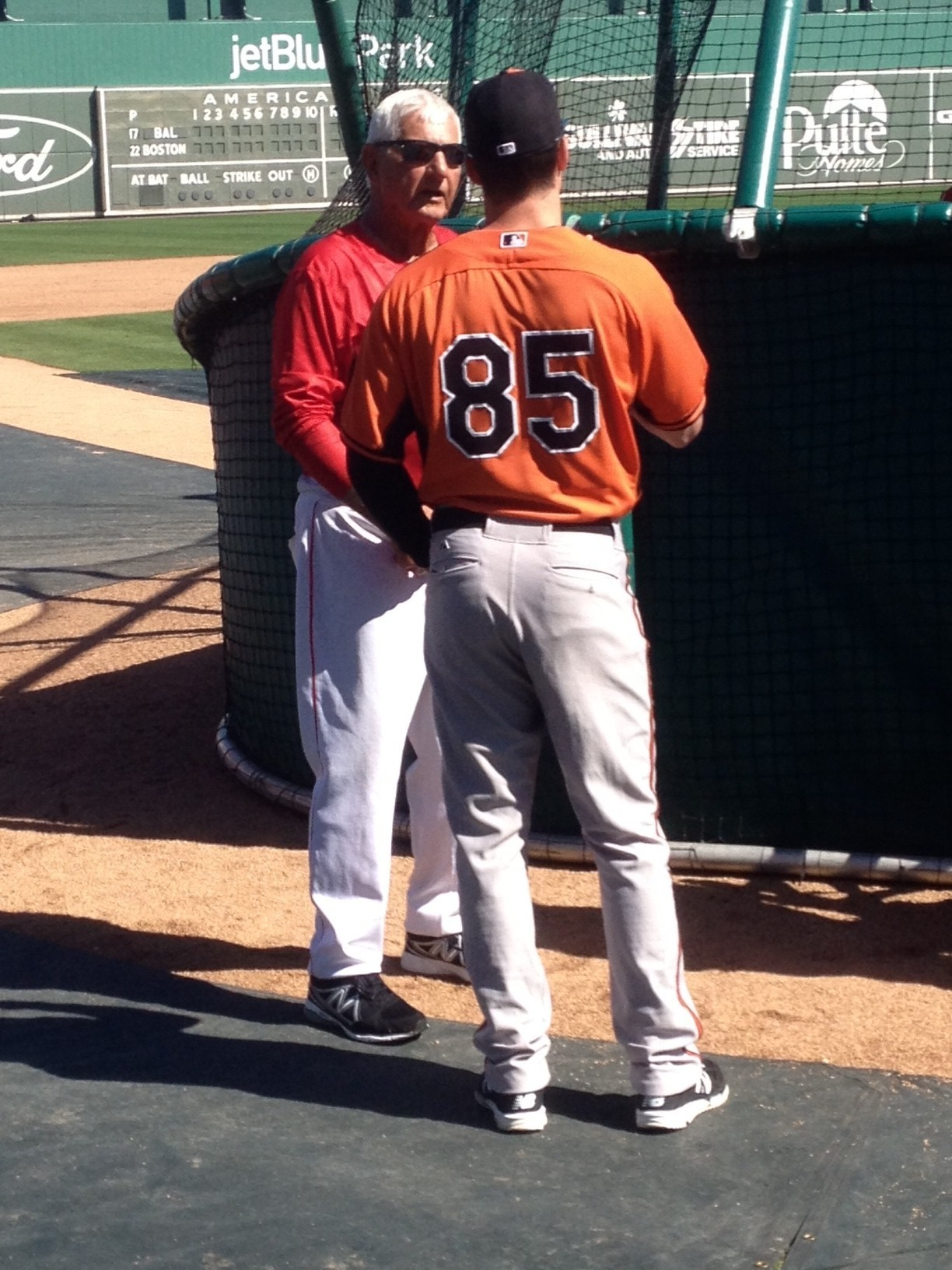 Red Sox trip a family affair for O's prospect Mike ...