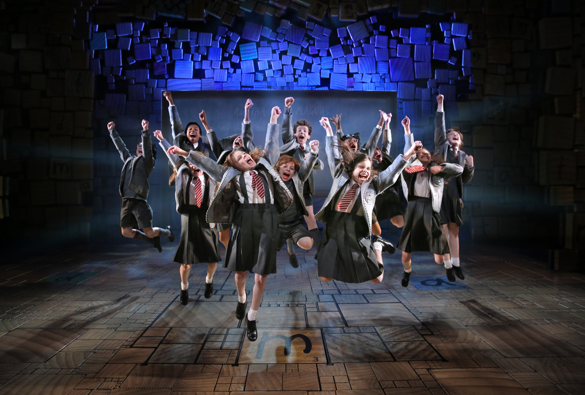 Matilda Tour To Prep And Play Shubert Theater In New