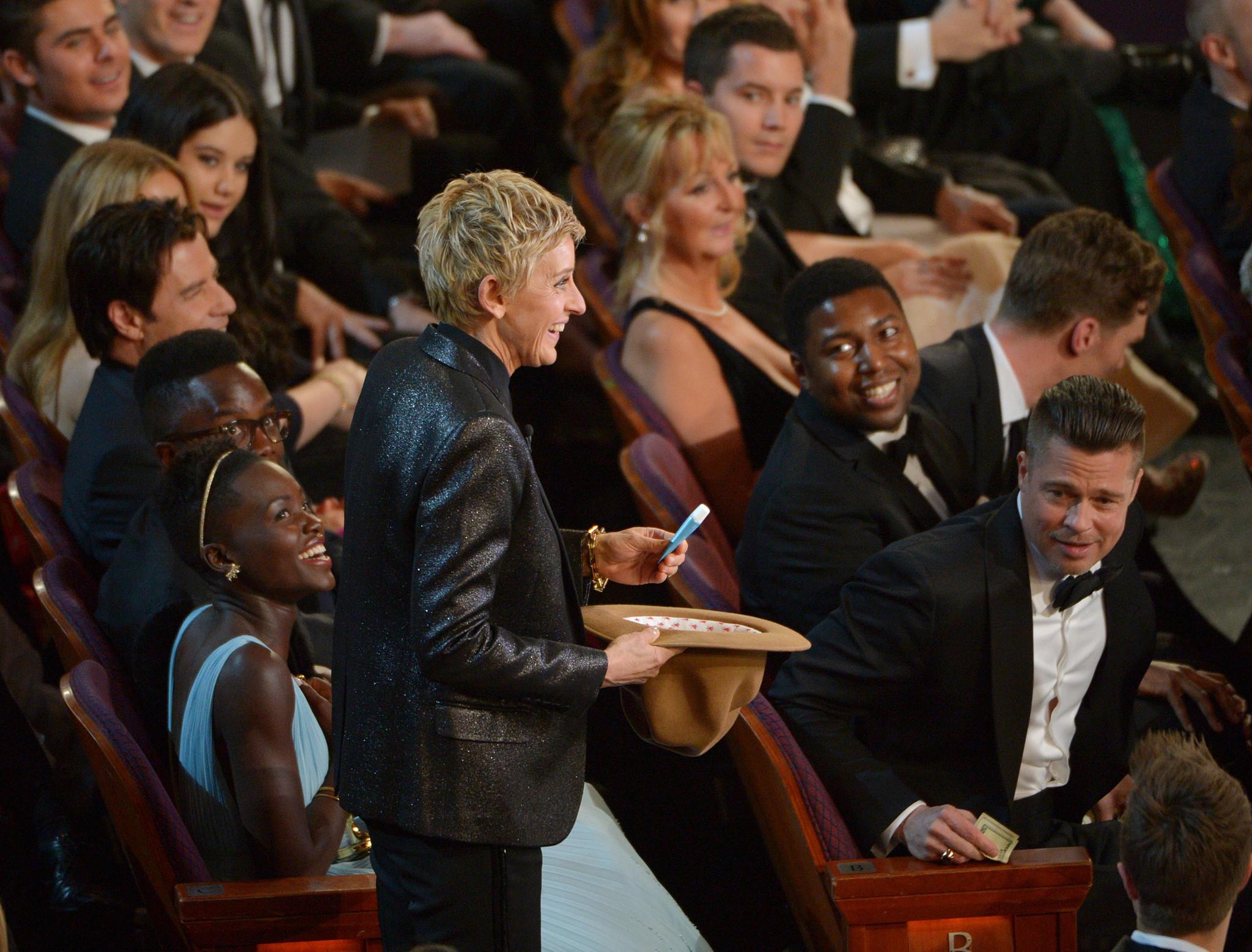 Ellen Degeneres En Los Oscars 2014