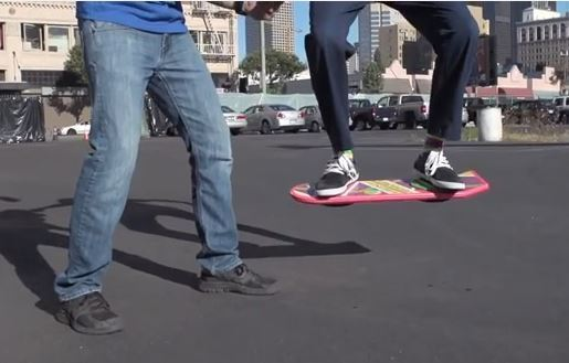 Huvr Hoverboard Videos Likely A Hoax Orlando Sentinel