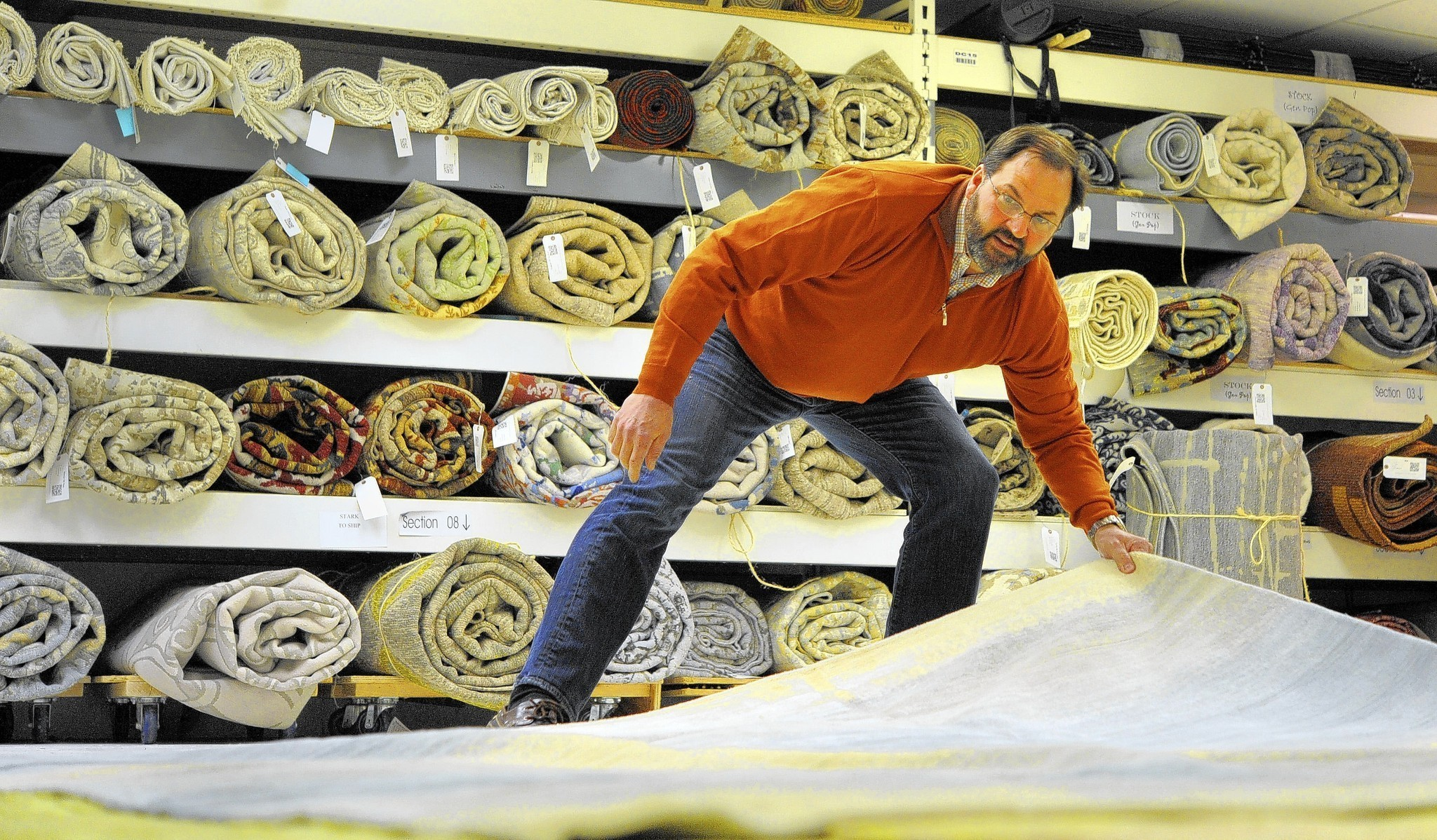 Baltimore Based Rug Designer Has Grown To Top Importer From Nepal Sun