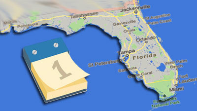 Map Destinations Florida.Florida Travel Calendar For November Orlando Sentinel
