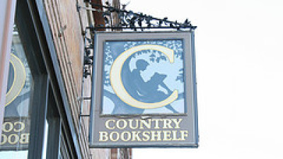 Literary Travel Country Bookshelf