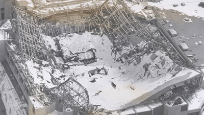 Throwbackthursday Hartford Civic Center Roof Collapse