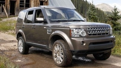 Land Rover LR4 equally capable on the road or off ...