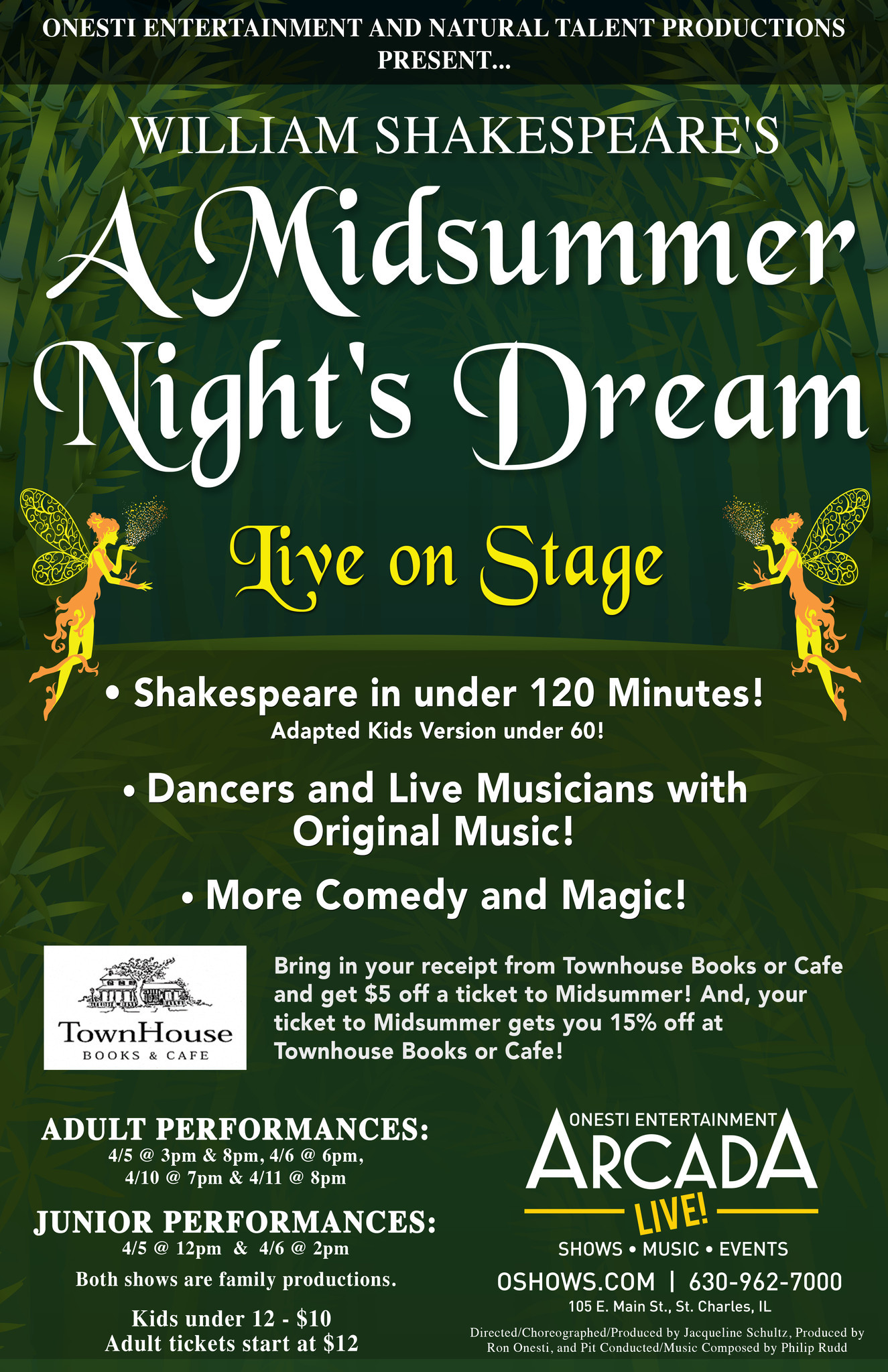 """SHAKESPEARE'S """"A MIDSUMMER NIGHT'S DREAM"""" ADDS COMEDIC ..."""