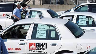 Bwi Taxi Drivers Protest Potential New Management Company