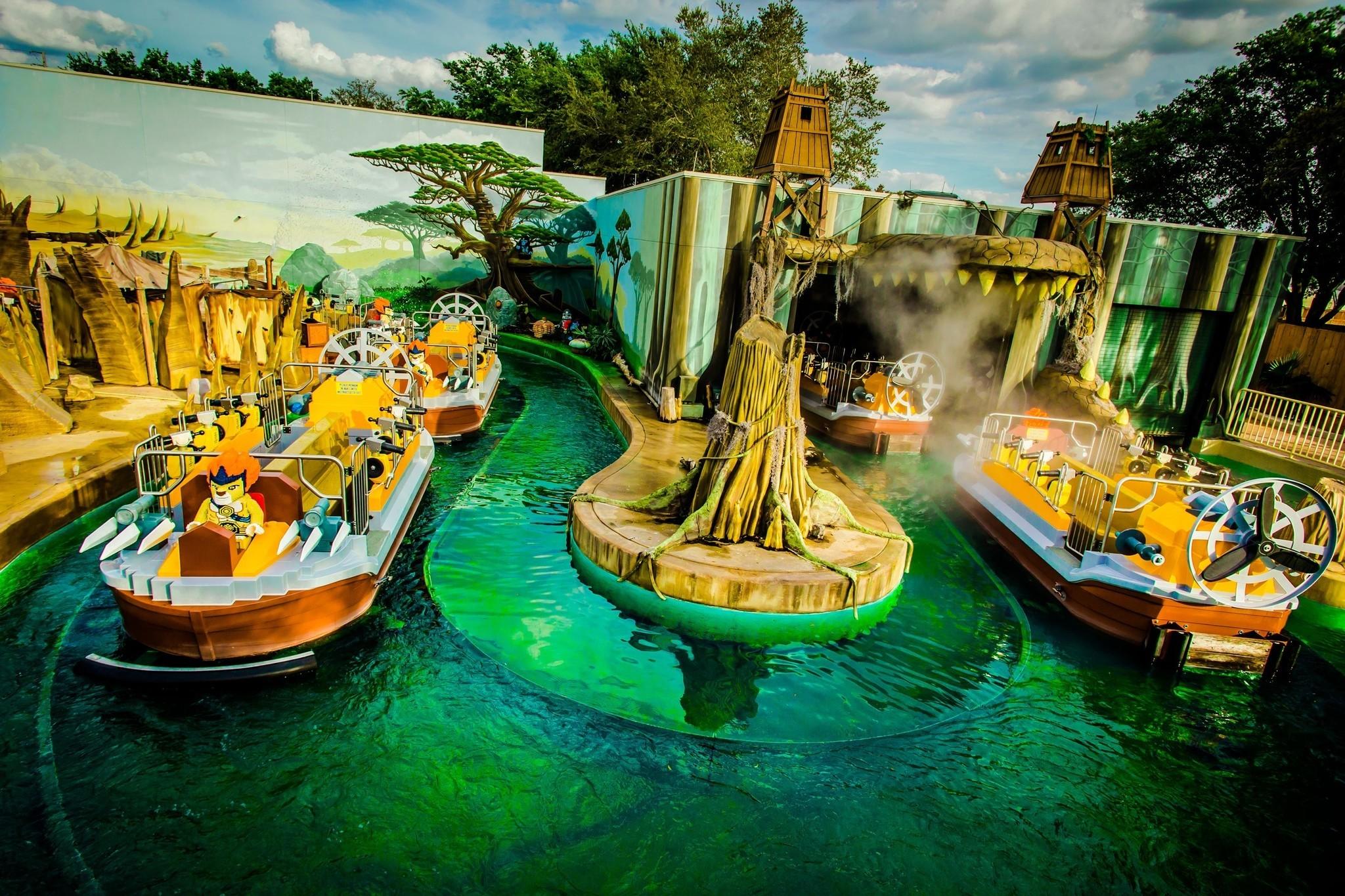 Photo shows Legoland Florida ride going green - Orlando ...