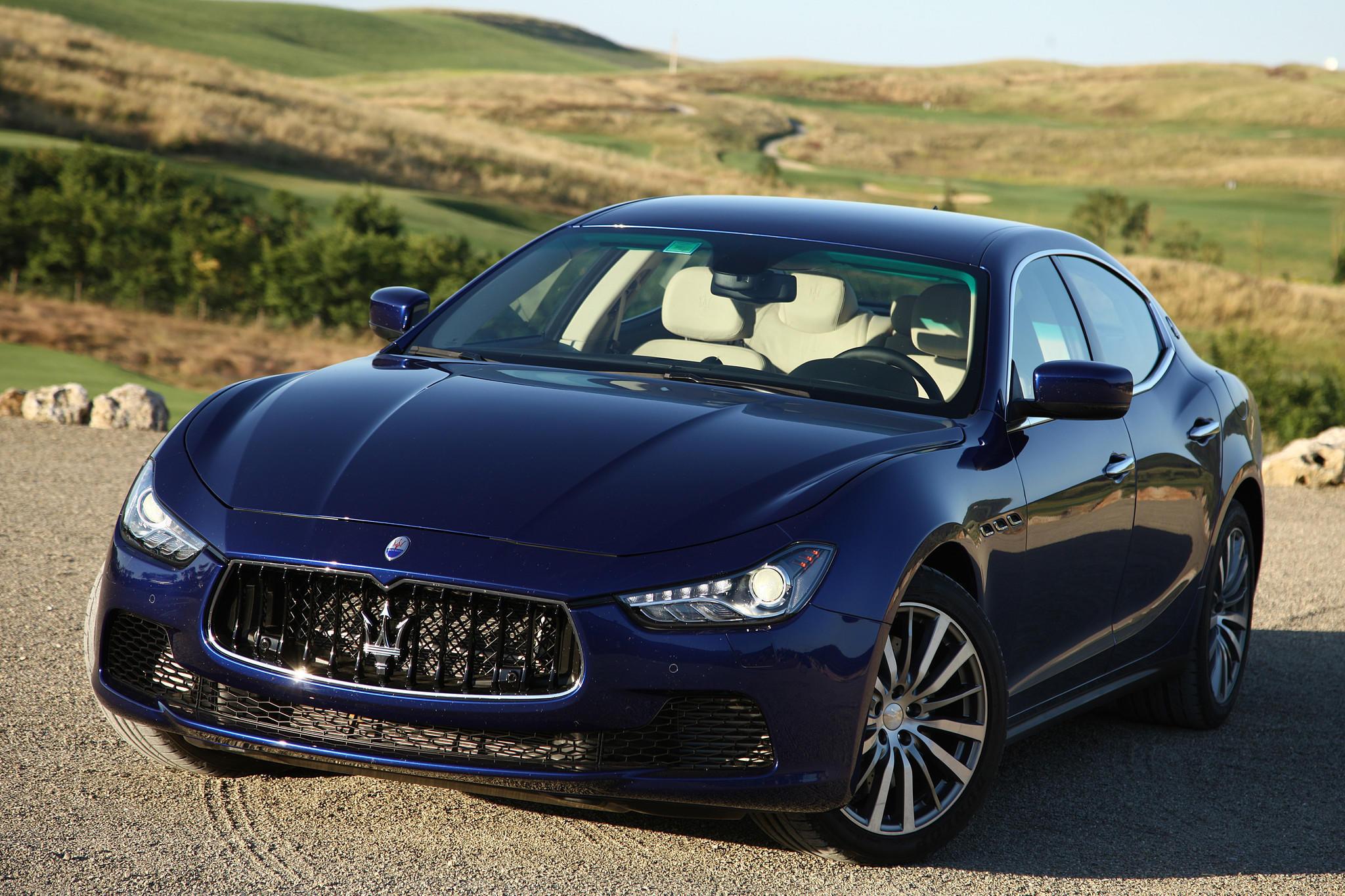 A Maserati With Chrysler Parts Latimes