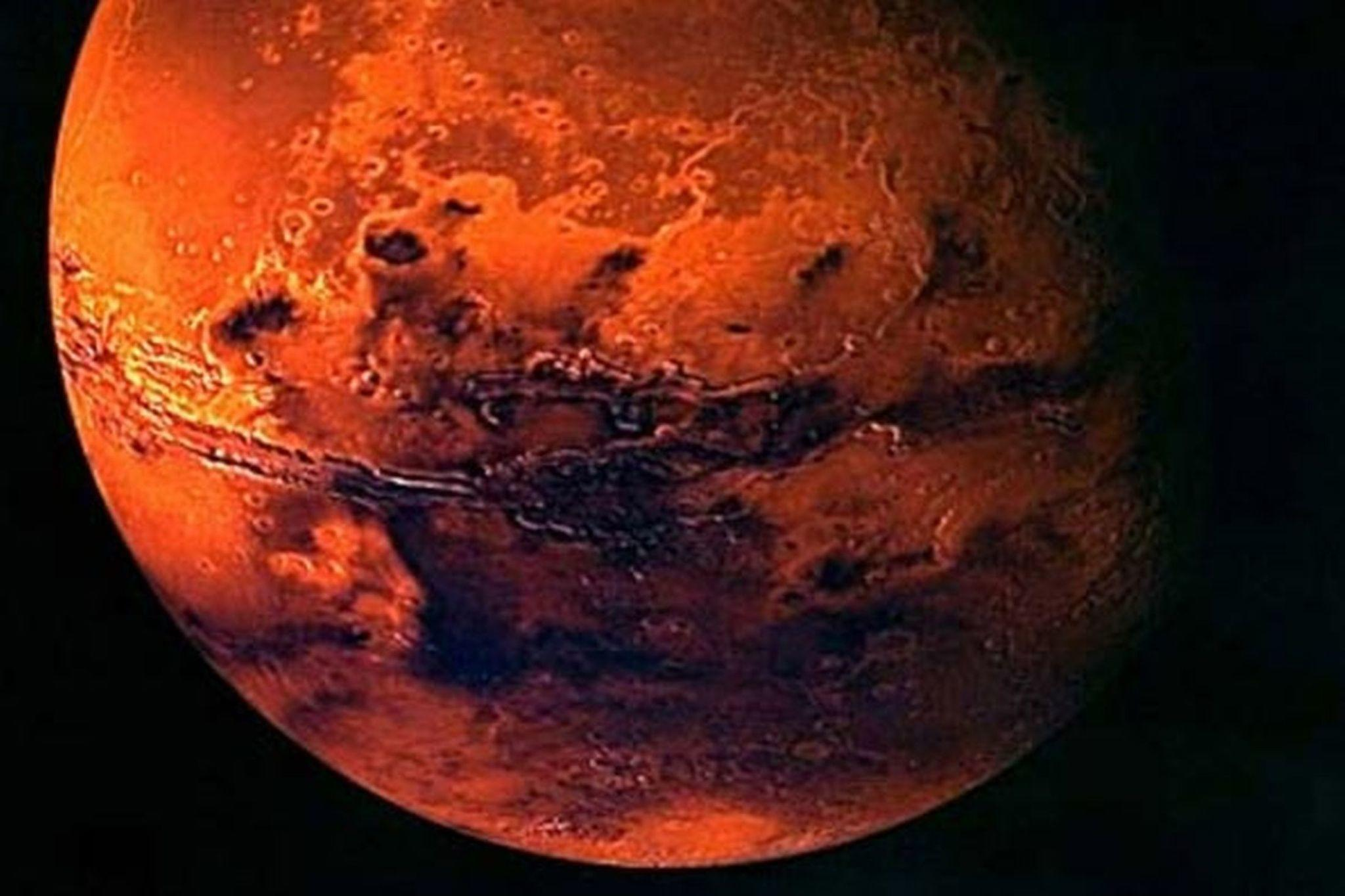 April is a great time to view Mars, which is usually ...