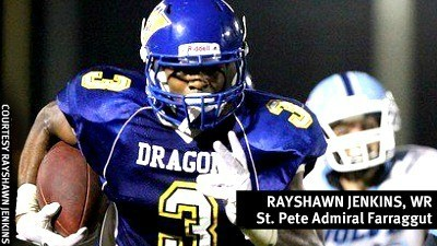 outlet store 8c9bd fd81a Rayshawn Jenkins of St. Petersburg Admiral Farragut drops ...