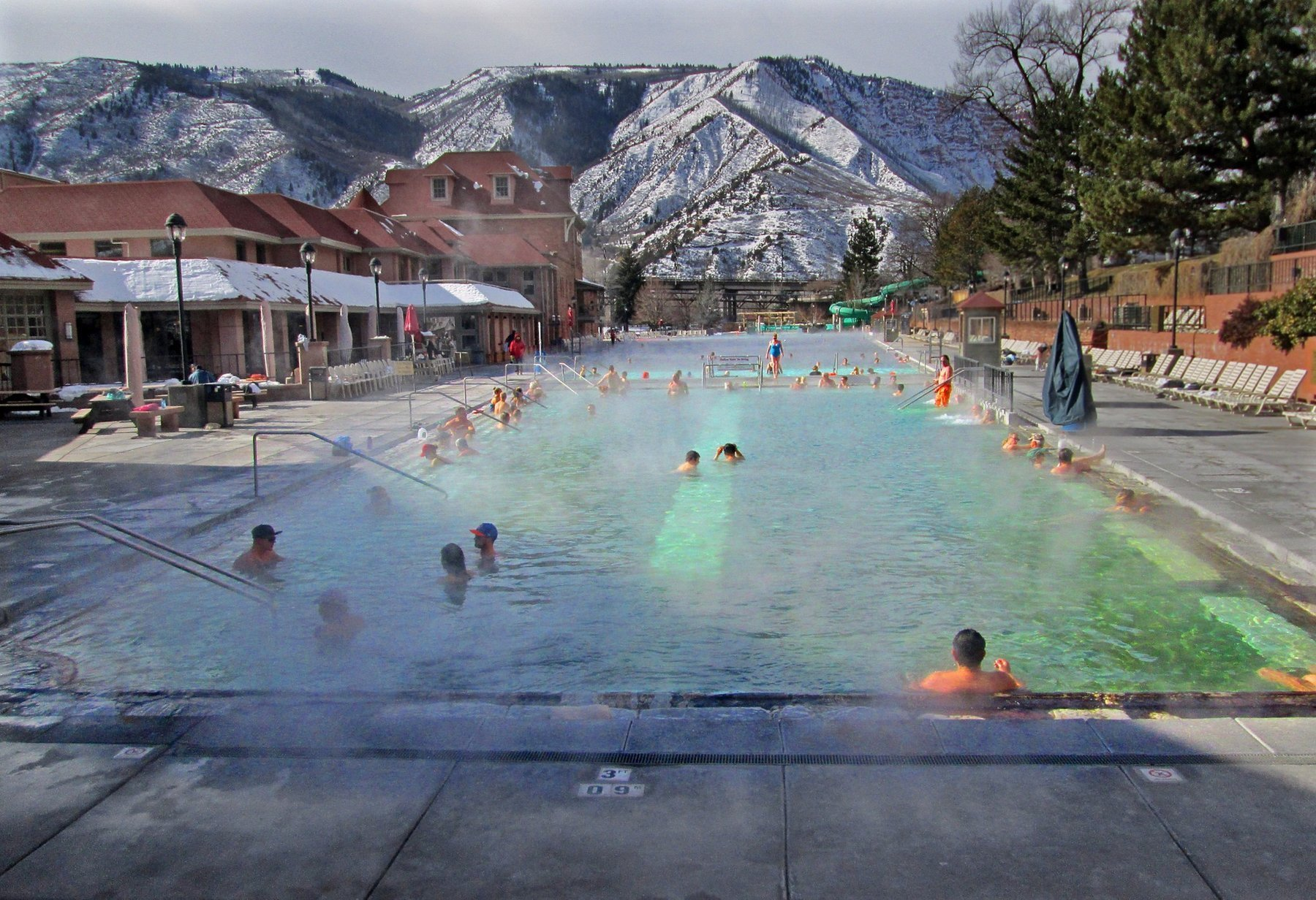 Mother Nature Runs A Spa In Glenwood Springs Chicago Tribune