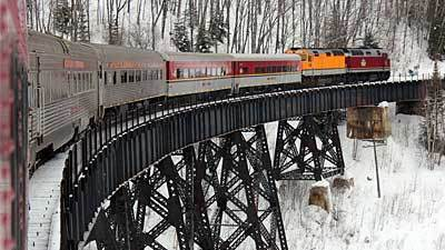 Used Car Engines >> Agawa Canyon Snow Train takes a round-trip journey to stillness - Chicago Tribune
