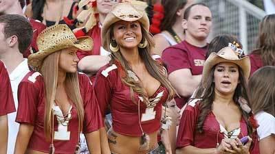 Fotos: Florida State football fans y cheerleaders - El ...