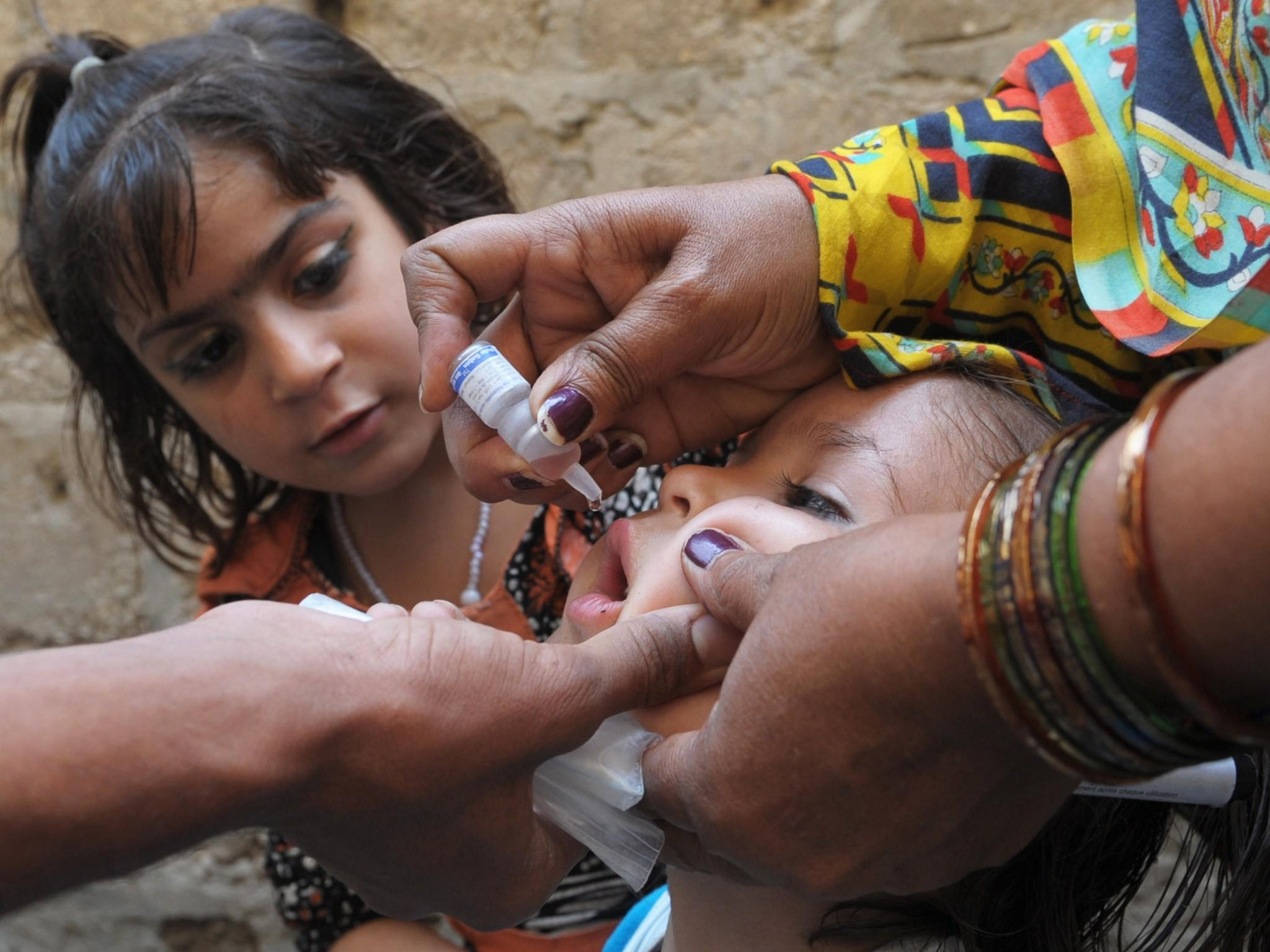 Pakistan may be polio free by next year:UNICEF health official