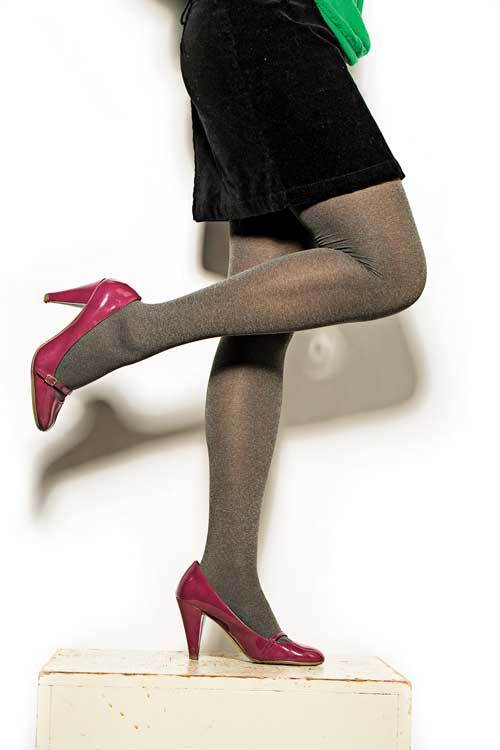 ee61fb90aae2c2 Star Power by Spanx Center-Stage heathered shaping tights - Baltimore Sun