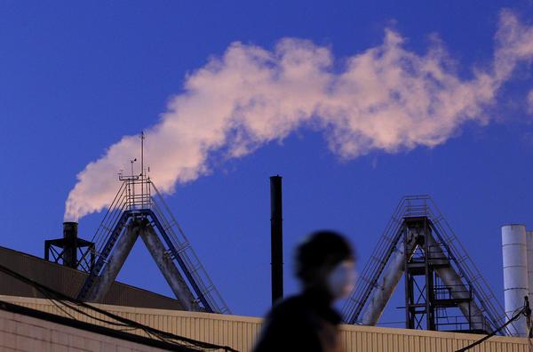 Exide plant emissions