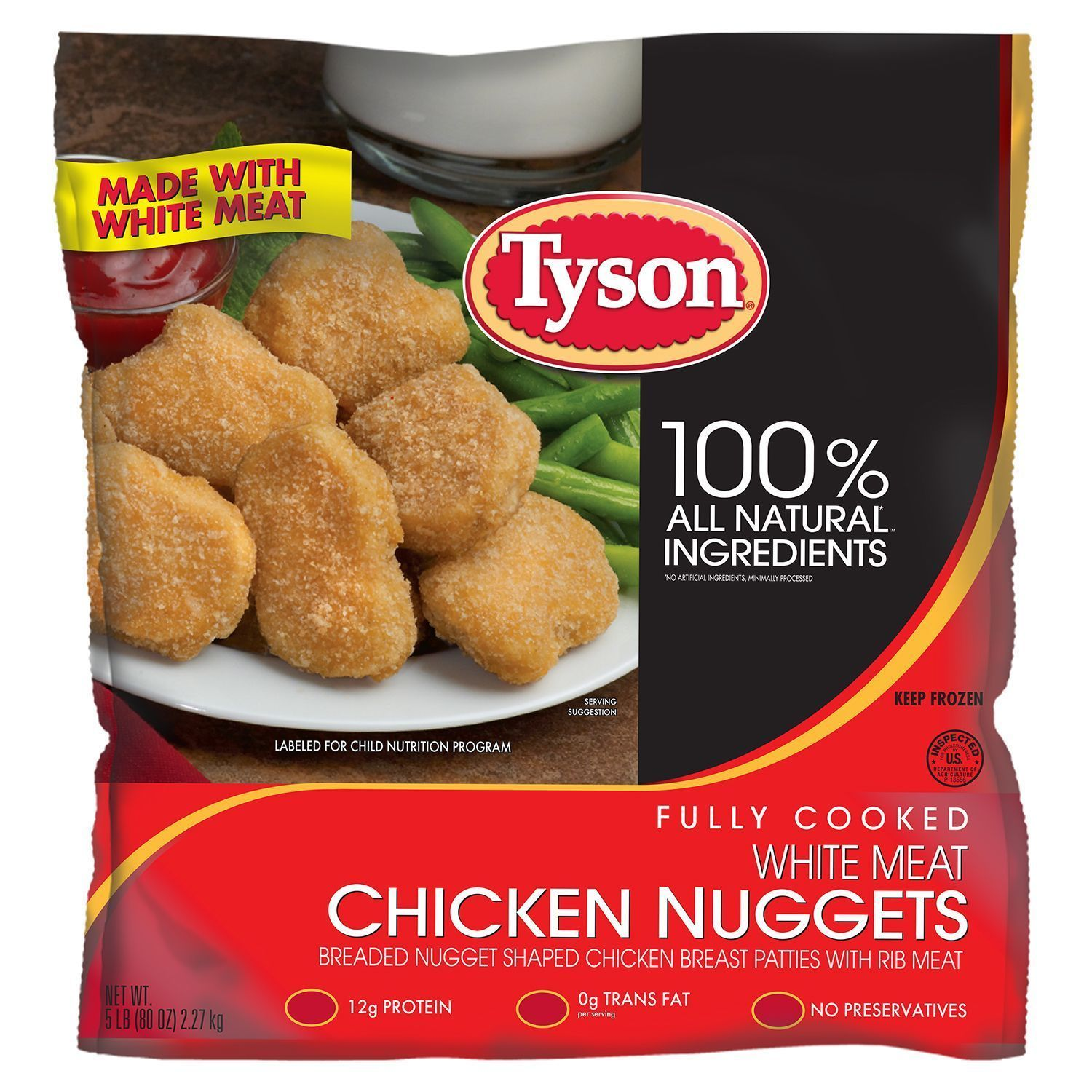 Nationwide Claims Number >> Tyson recalls more than 75,000 pounds of chicken nuggets ...