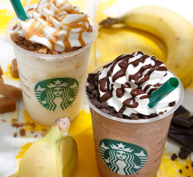 Starbucks Launches Banana And Chocolate Cream Frappuccinos In Japan La Times