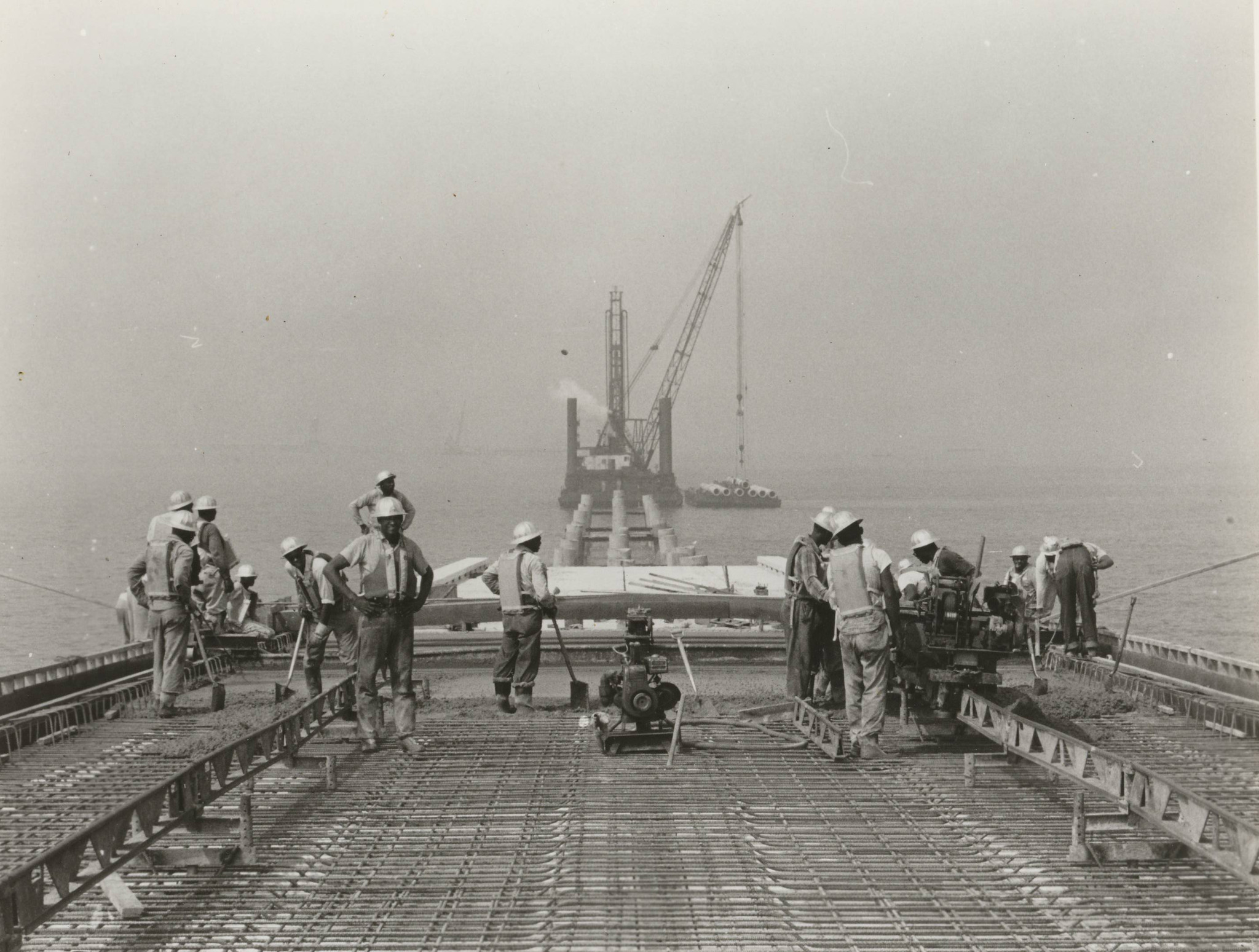 the construction of the chesapeake bay bridge tunnel daily press