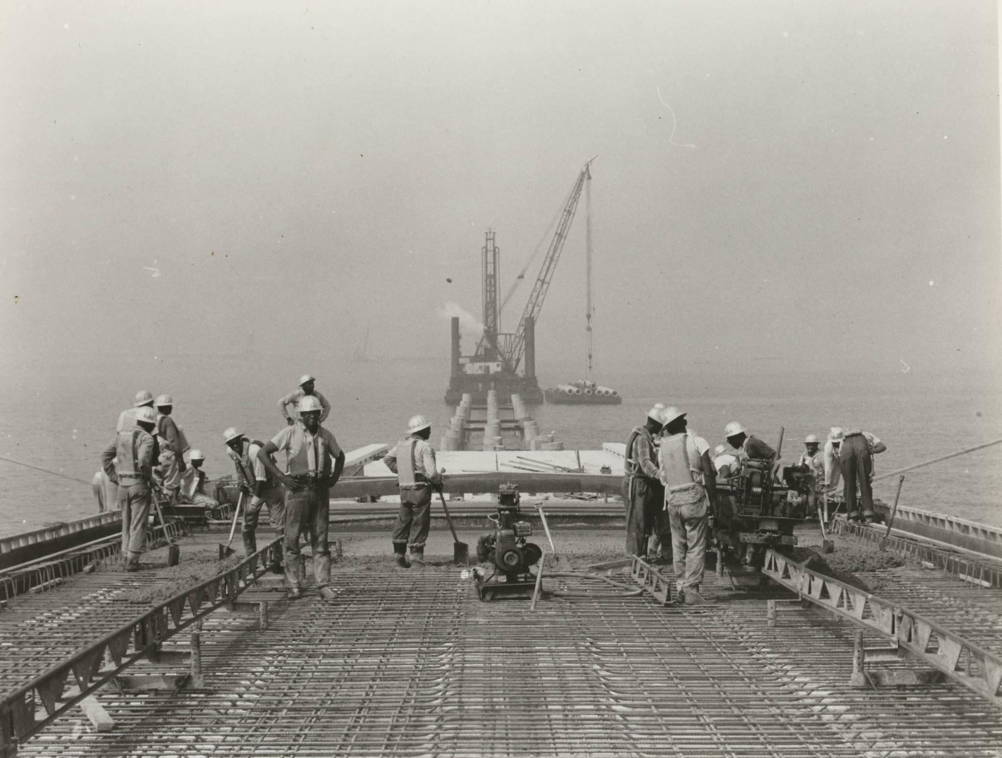 The Construction Of The Chesapeake Bay Bridge Tunnel