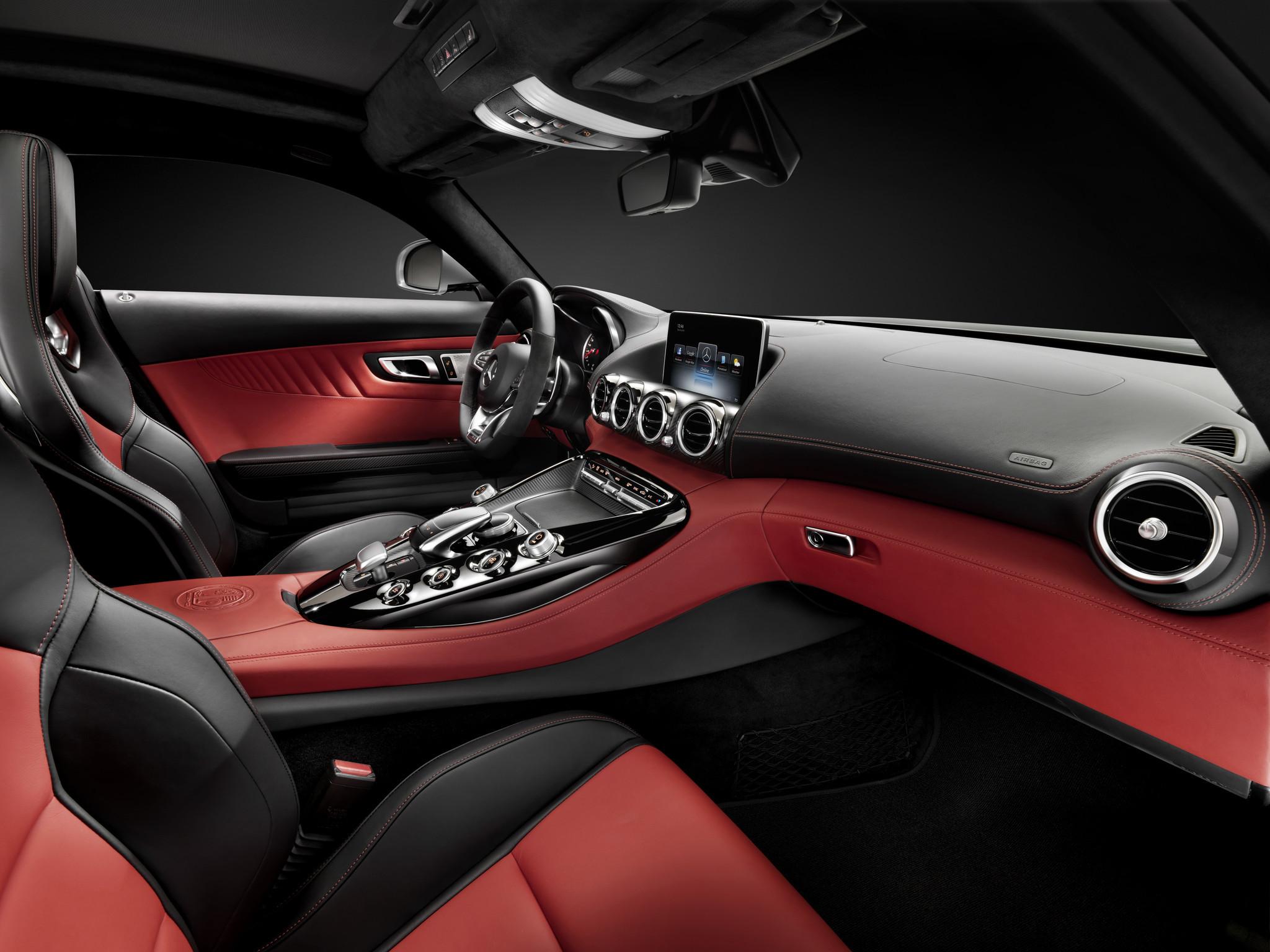Mercedes Confirms All New Amg Gt Sports Car Reveals Interior